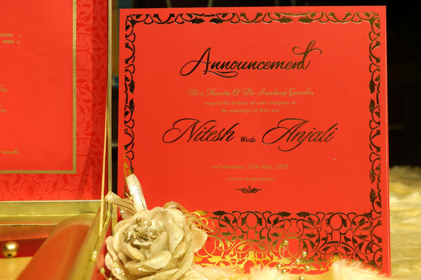 Designer Wedding Invitations | VWI - The Iconic Mark