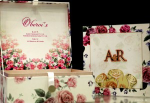 wedding-card-and-box-floral-print